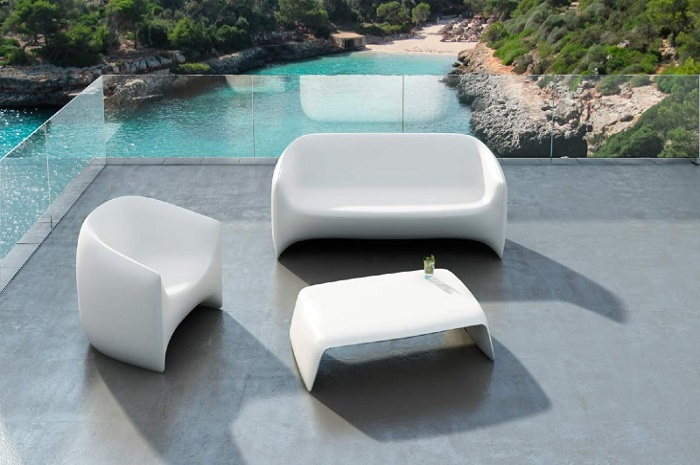 trendy outdoor furniture. Resin Modern Outdoor Furniture Trendy O