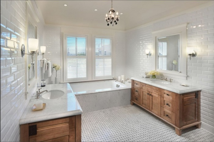 Showcase Personality Bathroom Design