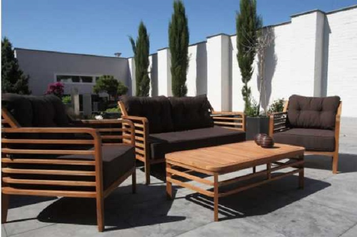 Wood modern outdoor furniture