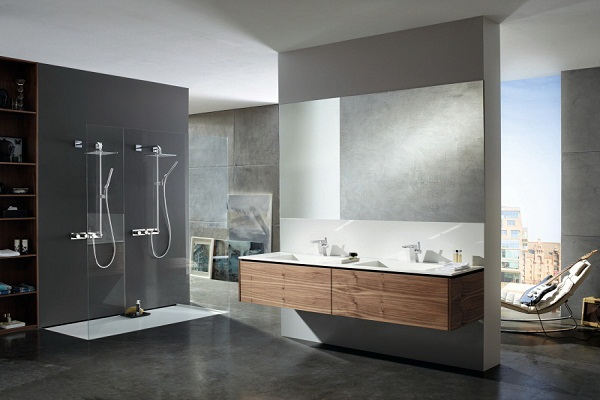 Double Shower Bathroom Design