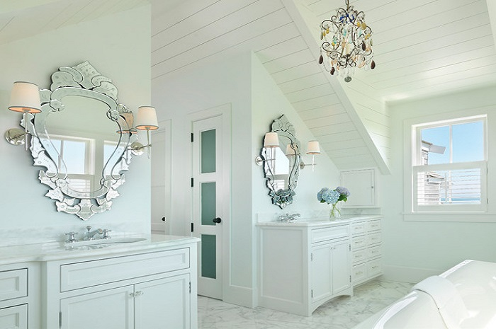 Bathroom Design With Mirror
